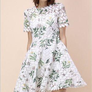 White Chicwish Lace Dress